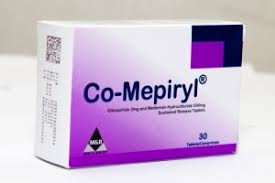 CO-MEPIRYL 2MG/500MG X 30 TABS