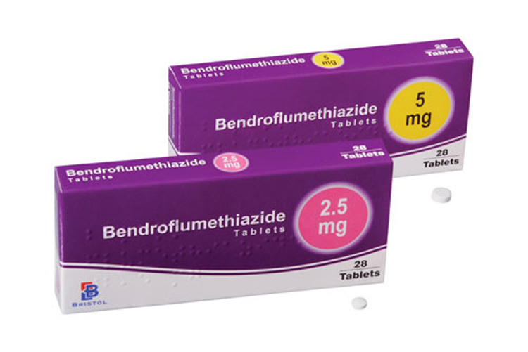 BRISTOL BENDROFLUMETHIAZIDE 5MG X 28 TABLETS