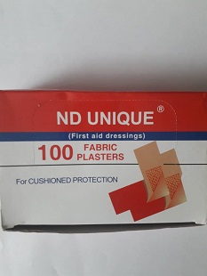 ND UNIQUE FABRIC PLASTERS X100
