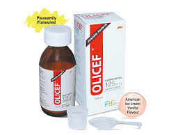 OLICEF CEFUROXIME 125MG/5ML SUSPENSION 100ML