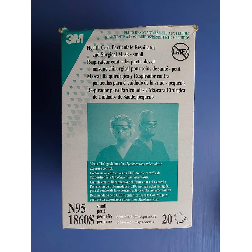 N95 (3M1860S) FACE MASK X 1